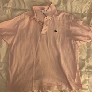 EUC men's XL Lacoste polo
